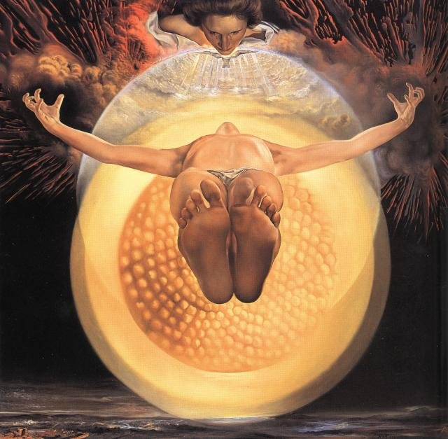 Ascension by Dali